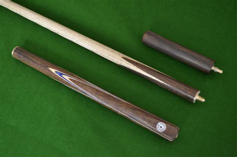Handmade Snooker Cues - 57 quot handmade spliced snooker cue rosewood with