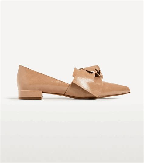 palermo flat shoes shop palermo inspired zara pieces whowhatwear uk