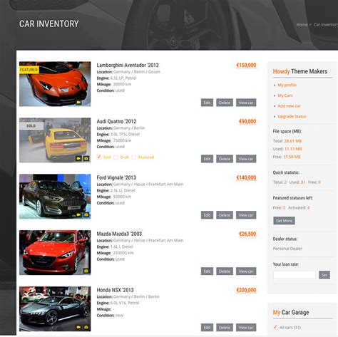 sell a used car how to list a used car for sale carproof car dealer automotive wordpress theme responsive