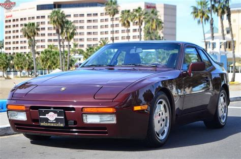 Ebay Home Interior 1987 porsche 944 with less than 6k miles is an expensive