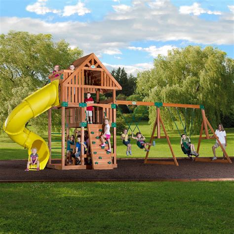 outdoor swing set kmart
