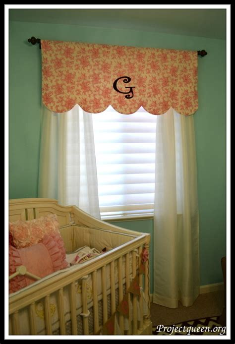 Nursery Valance Curtains Nursery Window Treatments On Window Treatments Window Curtains And