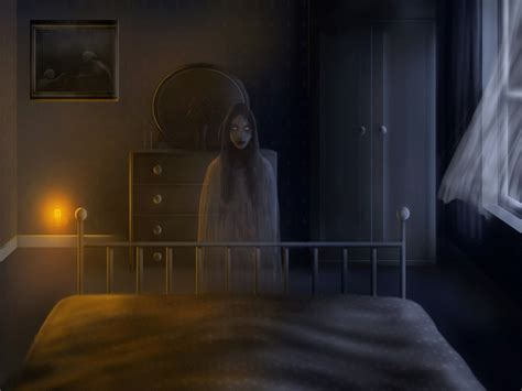 Creepy Bedroom by Creepy Wallpaper And Background 1280x960 Id 97975