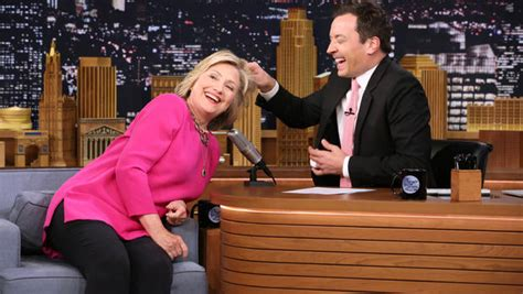 B Taping Skrup 8 X 2 election 2016 clinton appears on quot tonight show