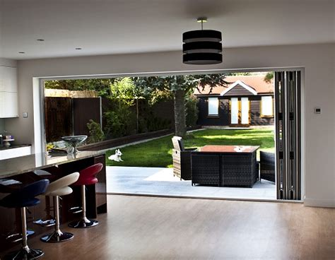 Kitchen Blinds Ideas Uk bi fold door systems from zen fold bi folding door