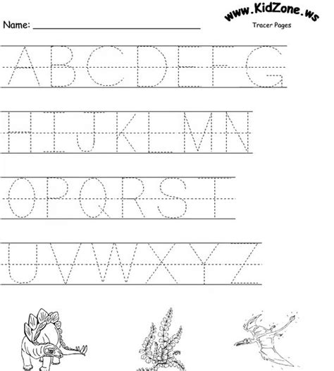 Make Your Own Tracing Worksheets by Free Worksheets 187 Tracer Sheets For Preschool Free Math