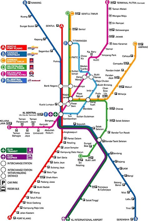 Ktm Malaysia Route Map Ktm Komuter Route