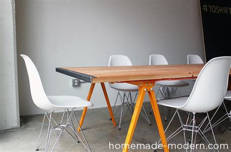 Diy Conference Table Modern Ep64 Conference Table