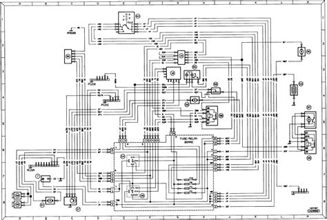peugeot 205 diagram 3 typical ancillary circuits wash