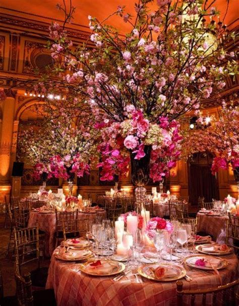 cherry blossom centerpiece flowers and decor pinterest
