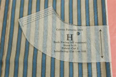 cutting a pattern grainline grainline cutting fabric colette blog