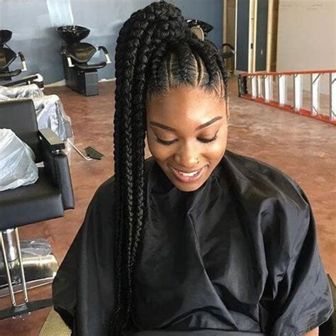 images of two elegant goddess braids the most elegant goddess braids in a high ponytail with