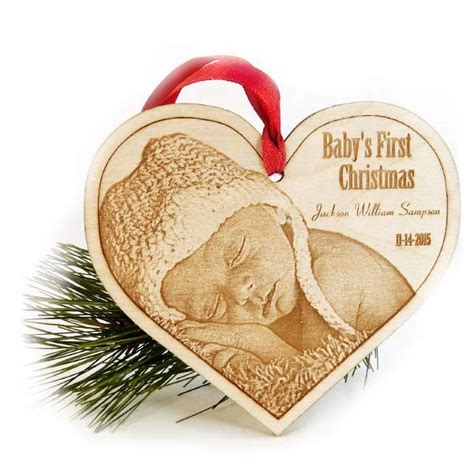 it a ornament baby s ornament laser engraved wood