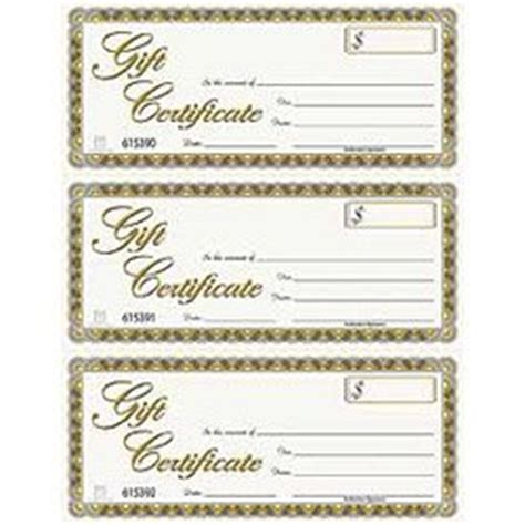 gftlz gift certificate template gift certificates 3 per letter size sheet
