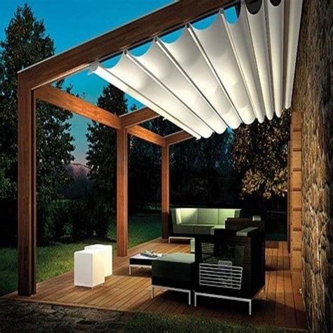 diy retractable pergola canopy schwep