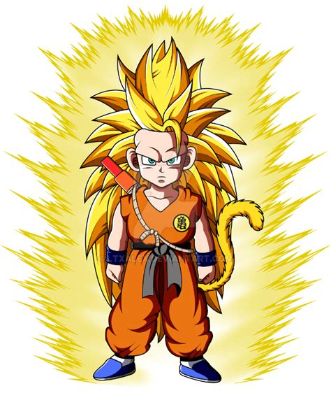 Goku Vegeta Ssj 3 020 kid goku ssj3 by ltxalex on deviantart