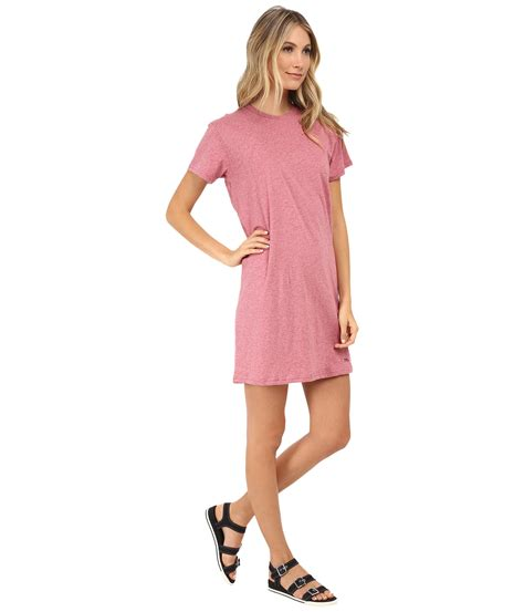 Our Favorite Shirtdresses by Marc By Marc Favorite T Shirt Dress In Pink Lyst