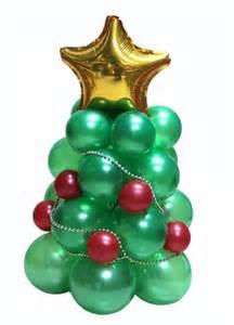 decoraci 243 n con globos un peque 241 o 225 rbol de navidad
