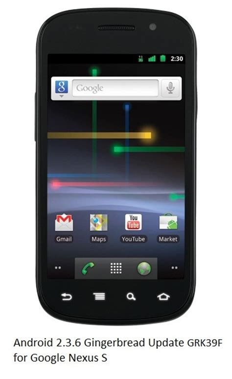 themes for android gingerbread 2 3 download google nexus s gets android 2 3 6 gingerbread