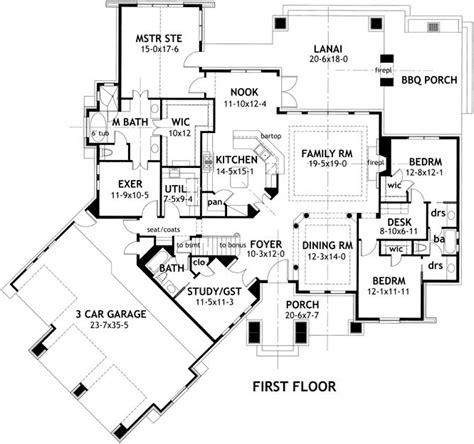craftsman bungalow floor plans craftsman style house plans