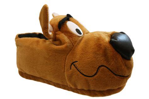 big animal slippers mens scooby doo brown novelty animal big