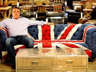 timothy oulton union jack sofa timothy oulton trades his ello for a howdy at his u s