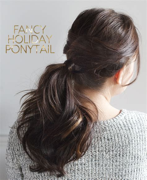 Fancy Ponytail Hairstyles by 25 Easy Hairstyles For Hair