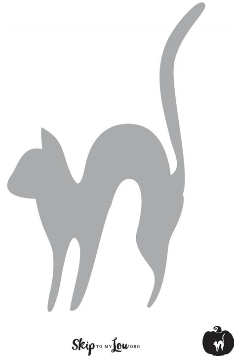 Pumpkin Carving Cat Templates by Cool Free Printable Pumpkin Carving Stencils Skip To My Lou
