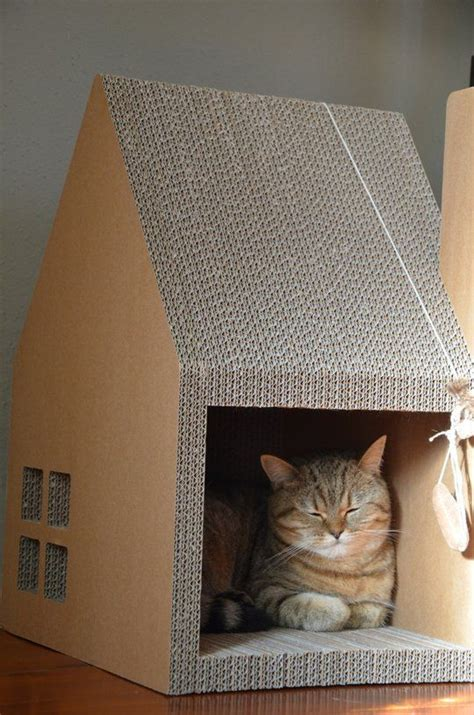 kitty themes for winter best 25 cardboard cat house ideas on pinterest house of