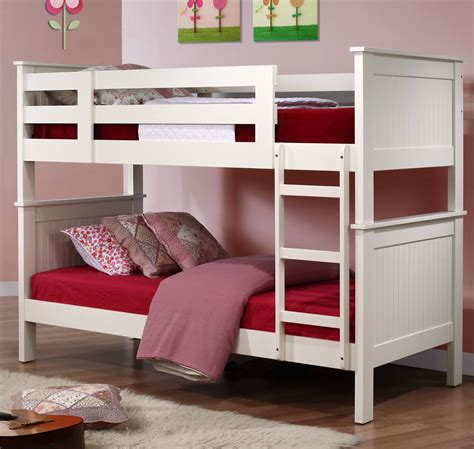 Bunk Bed With Office Murphy Children S White Bunk Bed The Children S Furniture Company