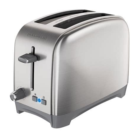 black decker 2 slice wide slot toaster classic