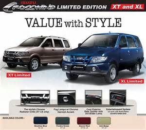 Isuzu Philippines Website Isuzu Philippines Price List Isuzu Crosswind Autos Post