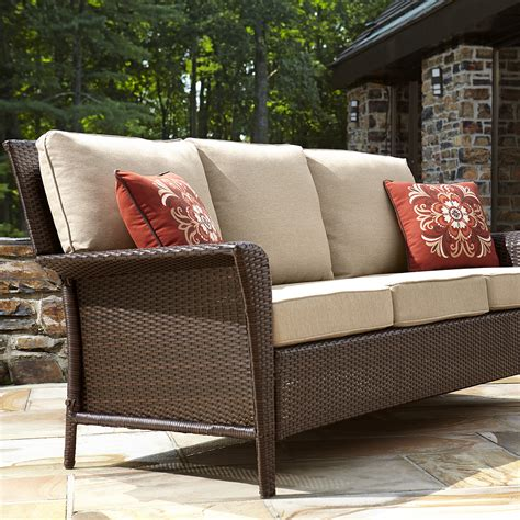 sears ty pennington patio furniture ty pennington style parkside 3 seat sofa limited