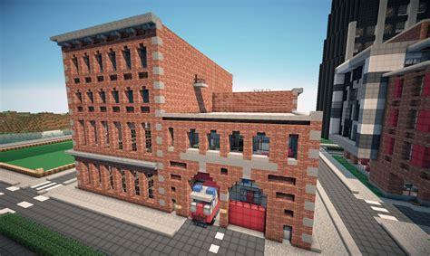 new york brick buildings on world of keralis minecraft