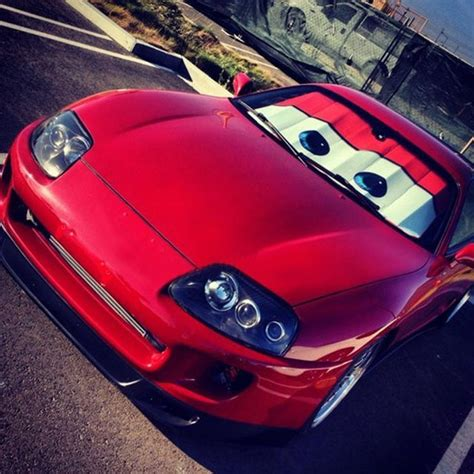 Lightning Car Window Cars Lightning Mcqueen Windshield Shade 187 Petagadget