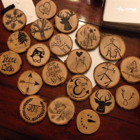 diy christmas ornaments 35 homemade felt wood paper