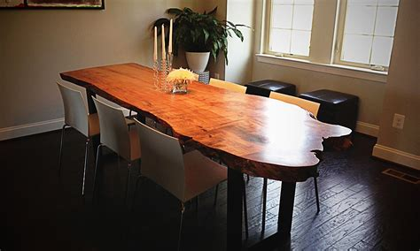 Live Edge Dining Room Table How To Clean Live Edge Dining Room Table Designs Ideas Decors