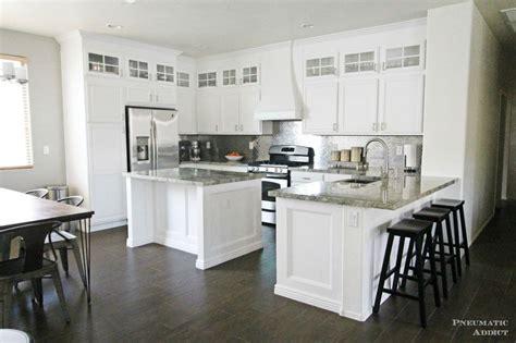 diy stacked cabinet kitchen makeover diy kitchen remodel