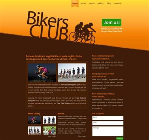 20 Free Html Css Sports Website Templates Utemplates Free Sports Web Templates