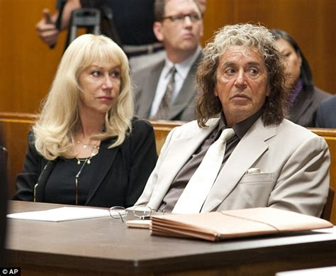 Phil Spectors Only Friends Are His Attorneys by Dame Helen Mirren In Dock Phil Spector Drama Accused