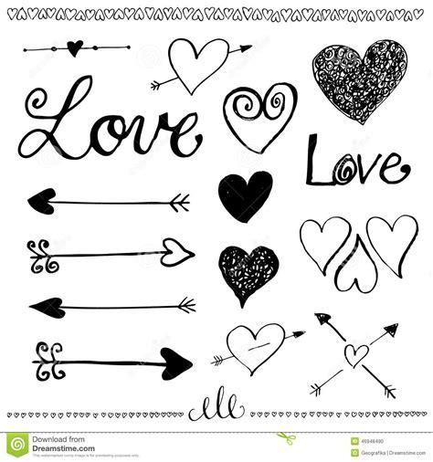 free doodle arrow vector vintage arrow clipart