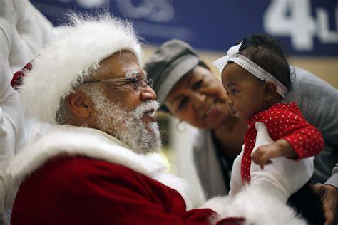 black santa claus yes aisha there can be a black santa claus new york post