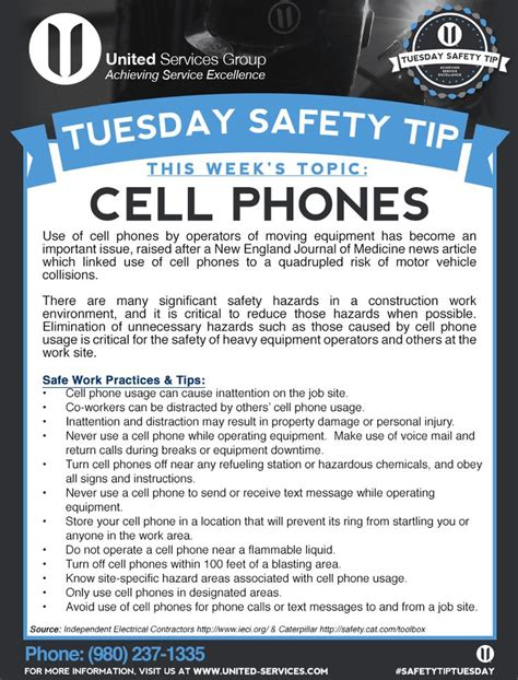 dailymotion mobile site this week s tuesday safety tip is about cell phone safety