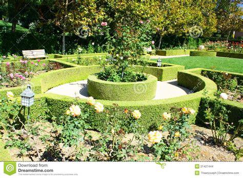 backyard landscape garden landscape stock images image 21427444