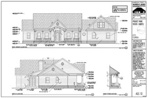 Senior Housing Floor Plans Permit Drawings Exterior Elevations Florida Architect