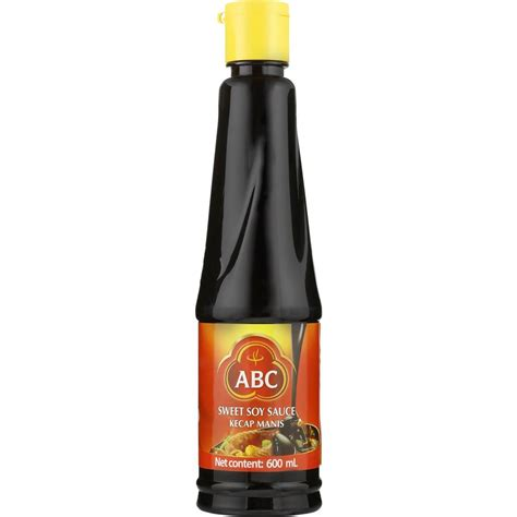 Abc Kecap Manis Pet 600ml by Abc Sweet Soy Sauce 600ml Woolworths
