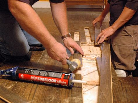 Repair Wood Floor How To Repair Hardwood Plank Flooring How Tos Diy