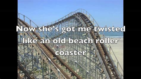 luke bryan roller coaster lyrics roller coaster luke bryan lyrics youtube