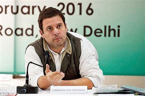 rahul interviews 600 congress members to help give gop a facelift daily mail