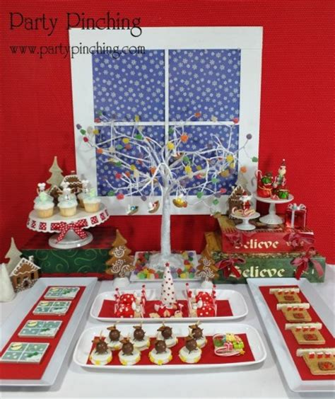 christmas themed baking party planning party ideas cute food holiday ideas